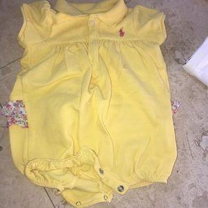 Ralph Lauren romper never worn 3 months baby girl